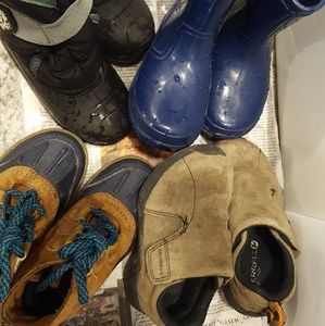 Other - Lot of FOUR boys play shoes/boots!! Size 8